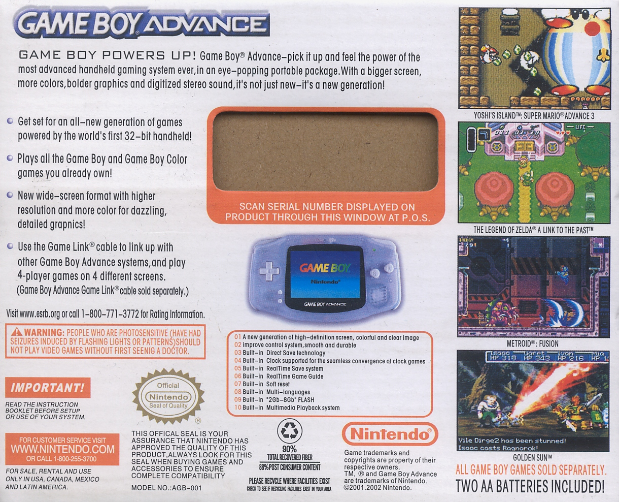 nesworld com gameboy advance clone 2 rh nesworld com gameboy advance sp manual pdf game boy advance programming manual
