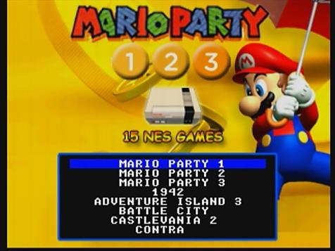 Mario Party 123 & 15 Nes Games Multicart (www nesworld com)